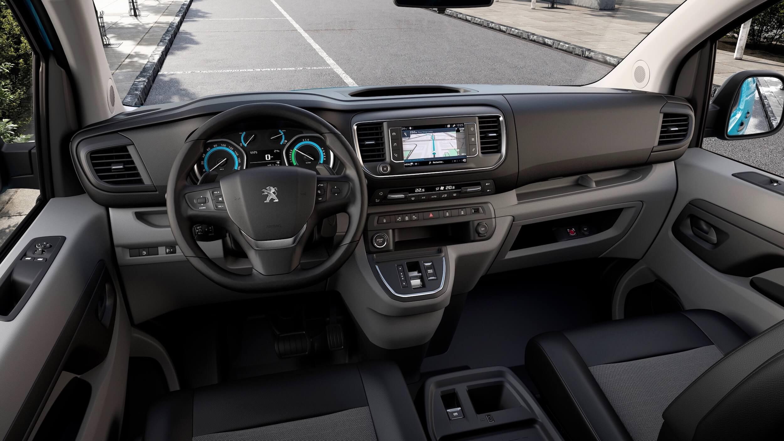 Peugeot e Expert Hydrogen interieur