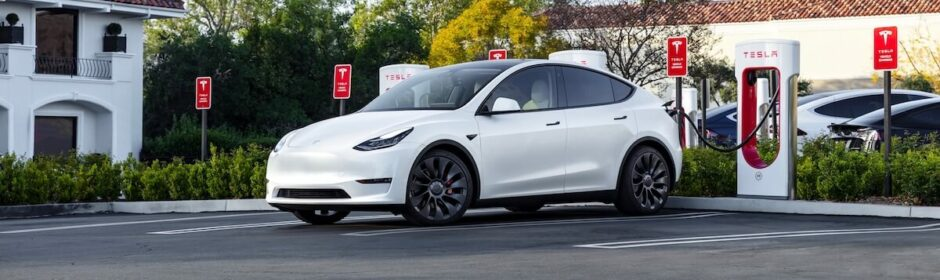 Tesla Model Y Supercharger