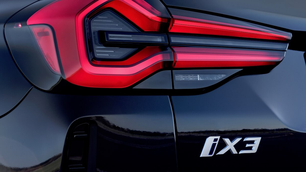 BMW iX3 badge