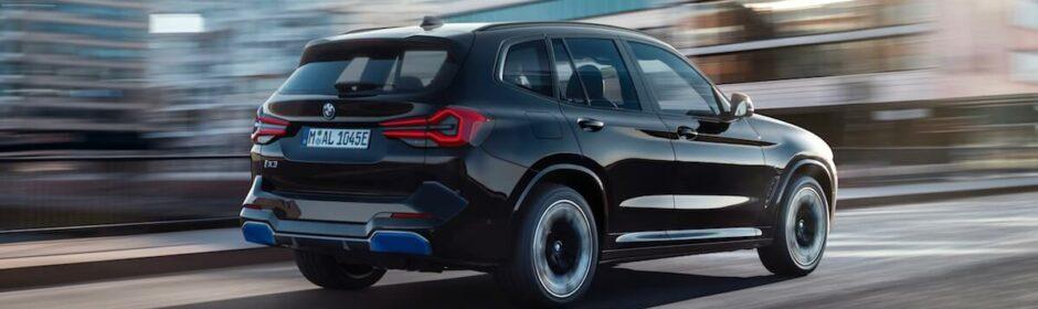 BMW iX3 facelift elektrische SUV