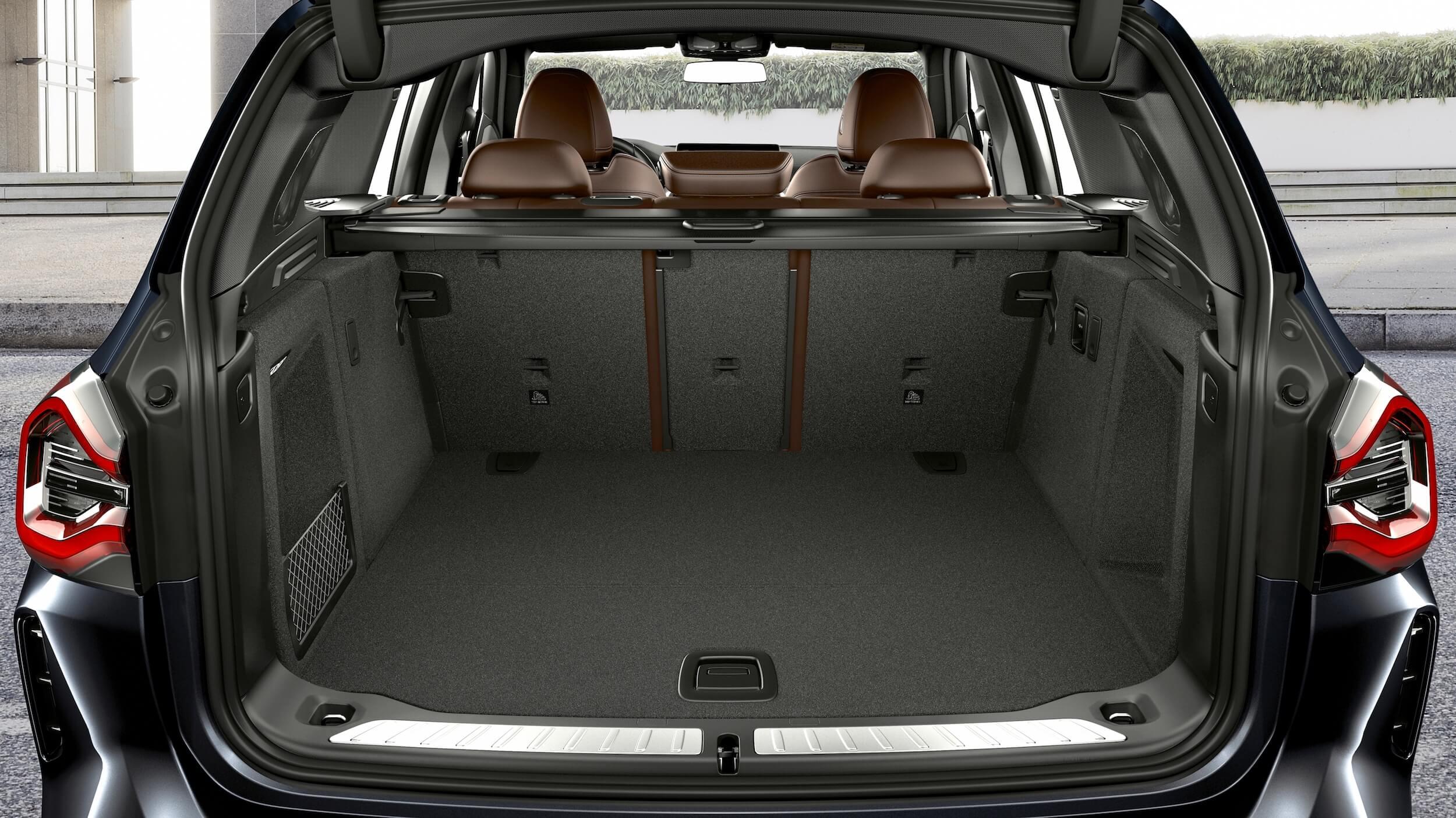 BMW iX3 koffer