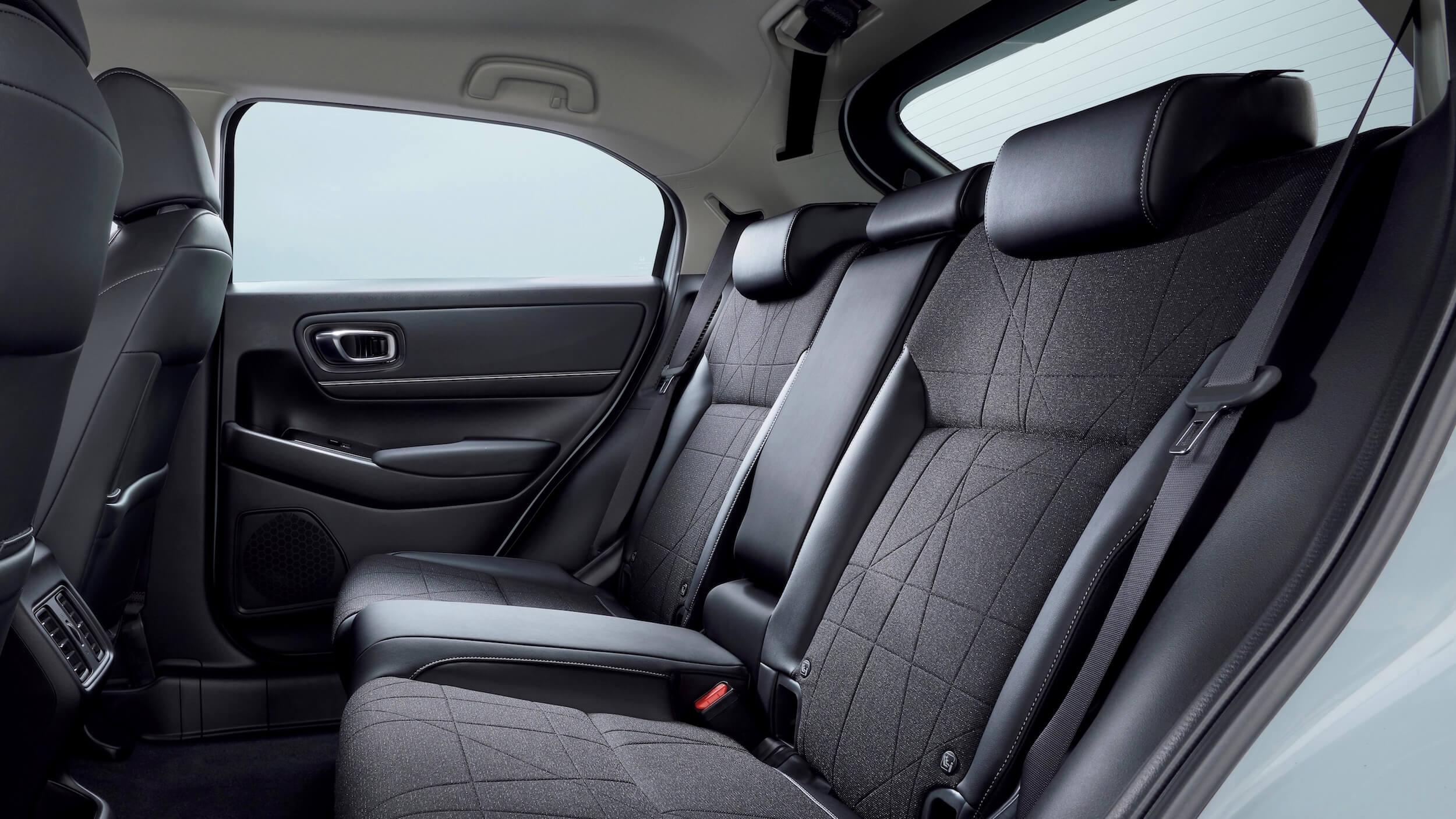 Honda HR V interieur achterbank