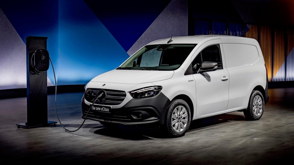 Mercedes eCitan elektrische bestelauto