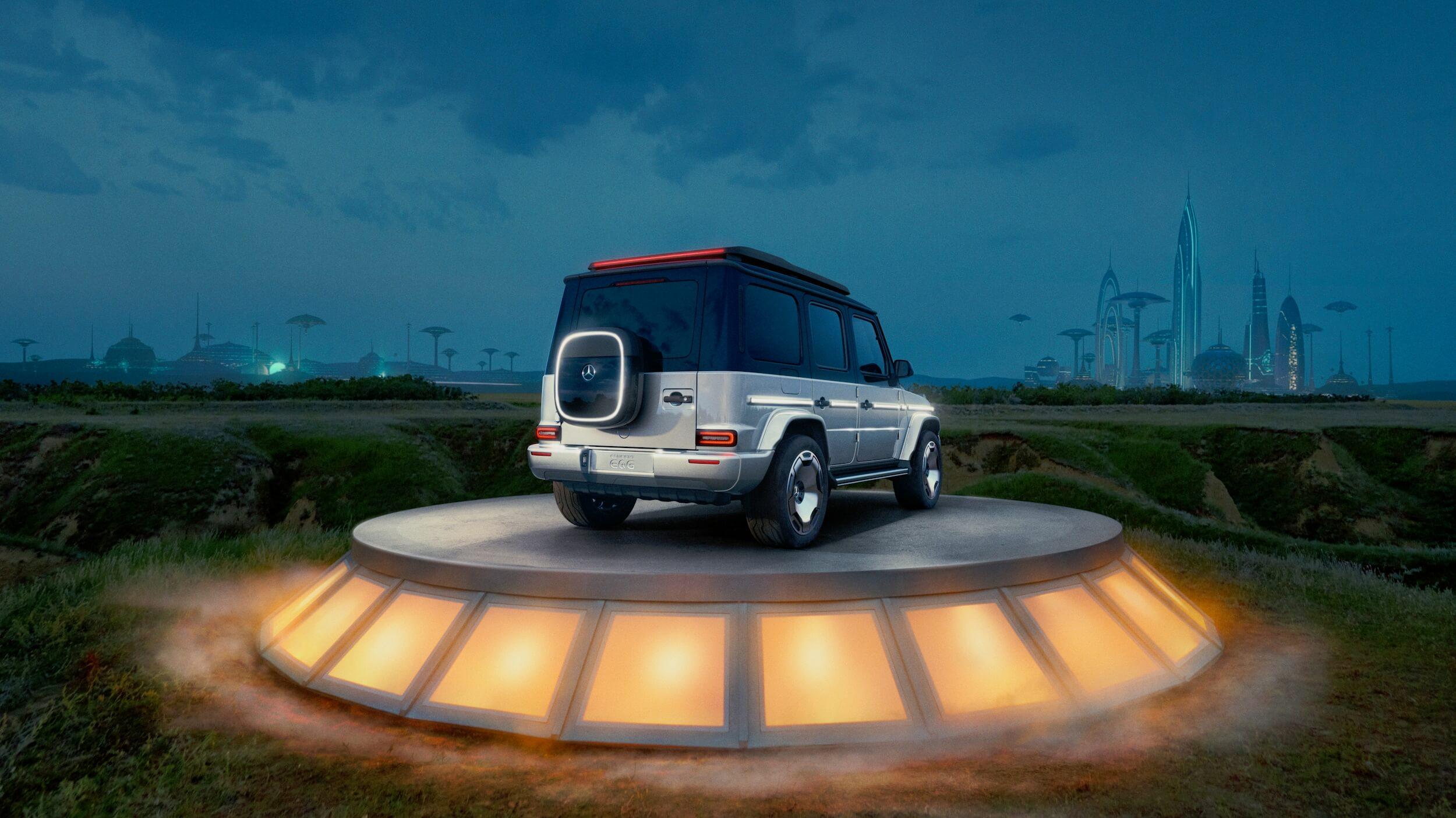 Mercedes Concept EQG 2