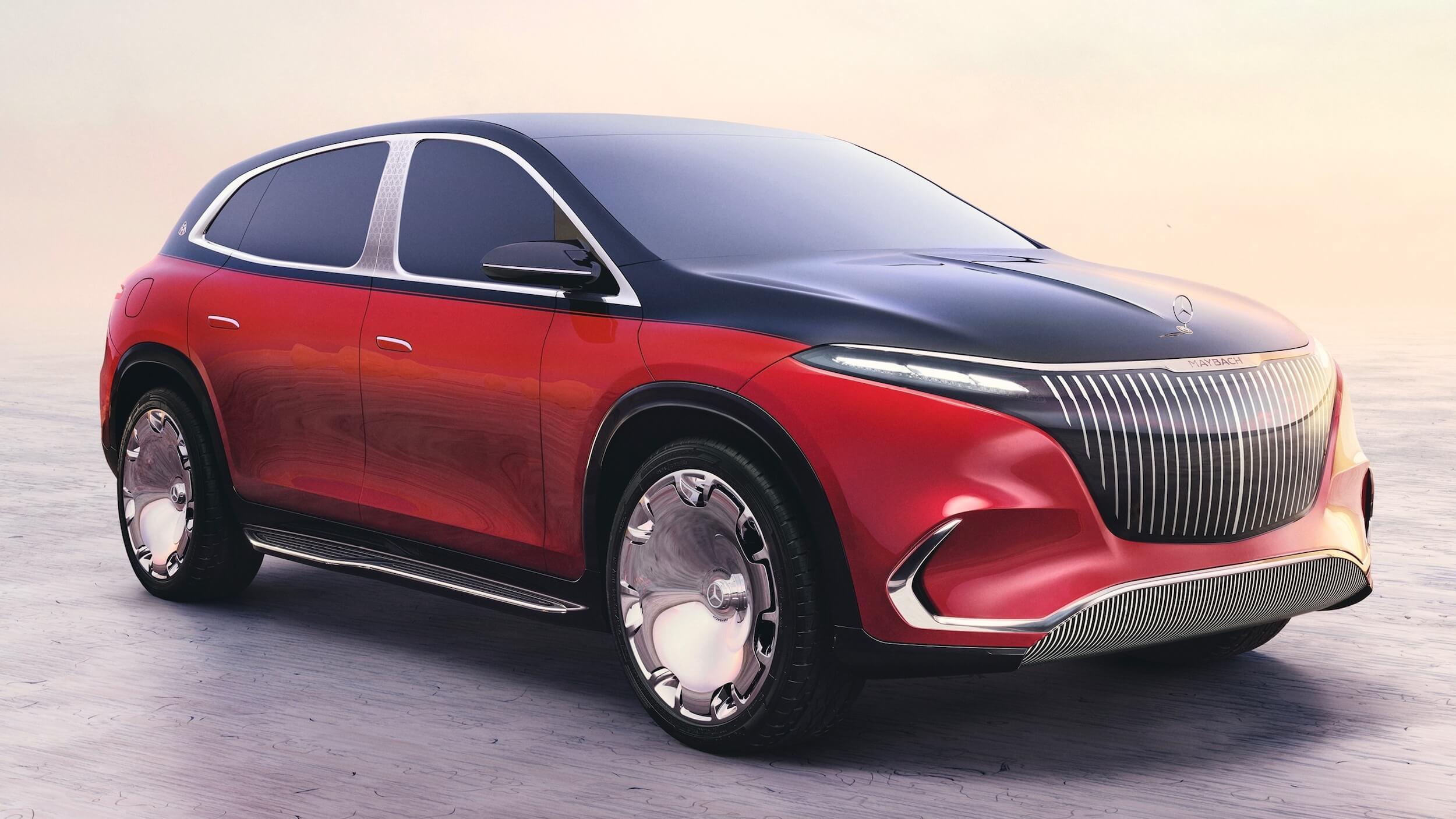 Mercedes Maybach EQS Concept 4