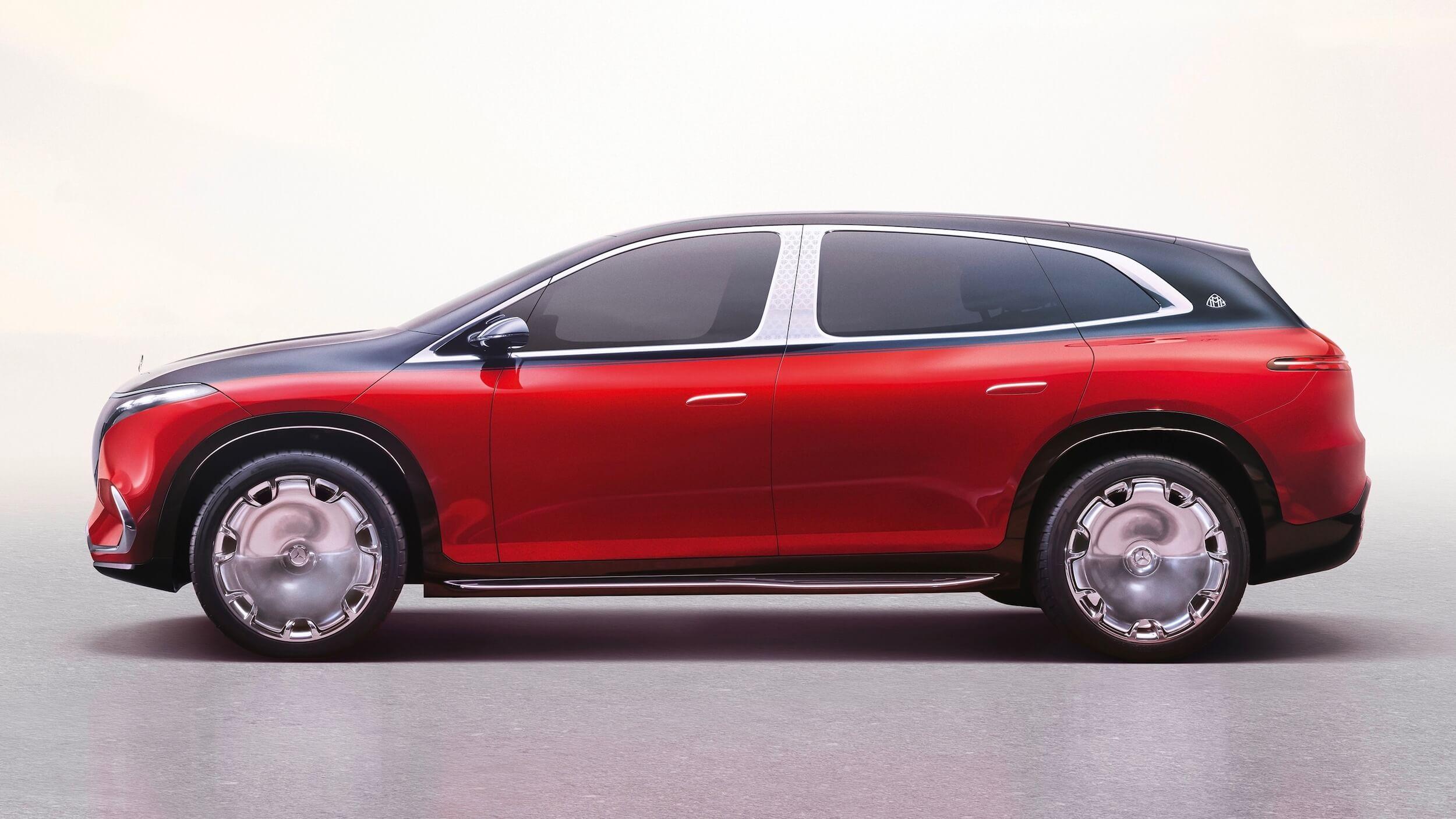 Mercedes Maybach EQS Concept 5