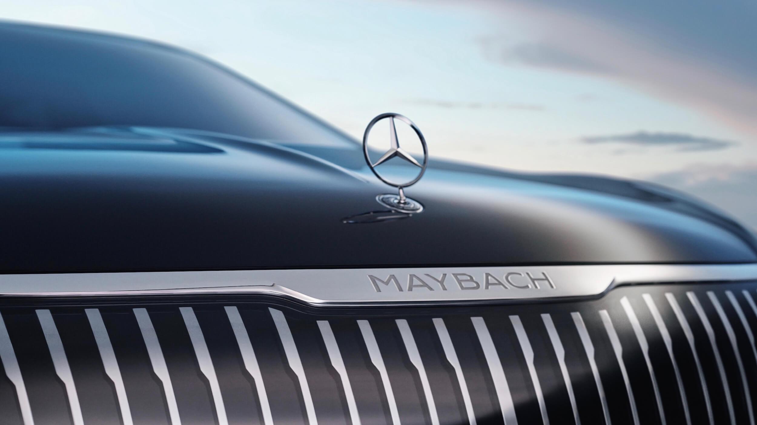 Mercedes Maybach EQS Concept 6