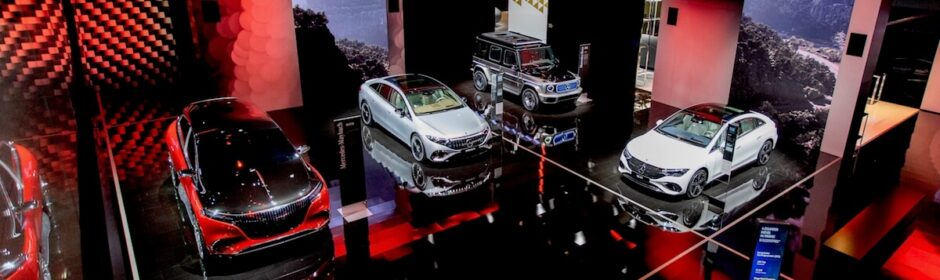 Mercedes stand IAA 2021