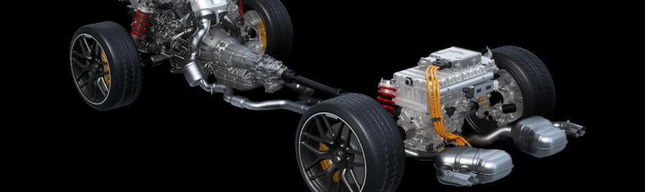 plug in hybride AMG aandrijflijn